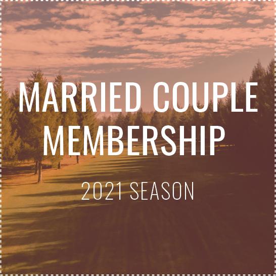 Married Couple Membership - 2021