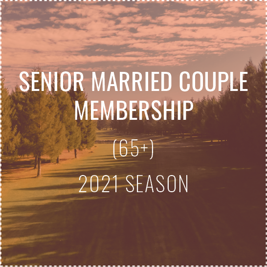 Senior Married Couple Membership - 2021