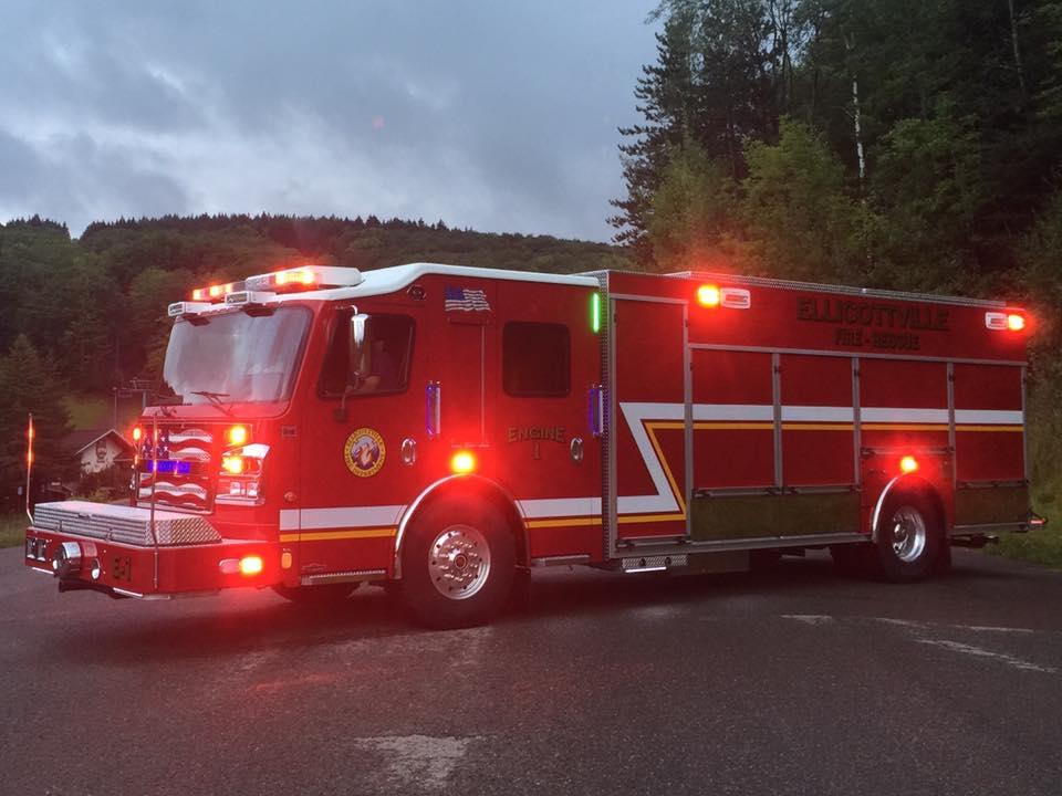 Combination Rescue/Pumper for Ellicottville Fire Department