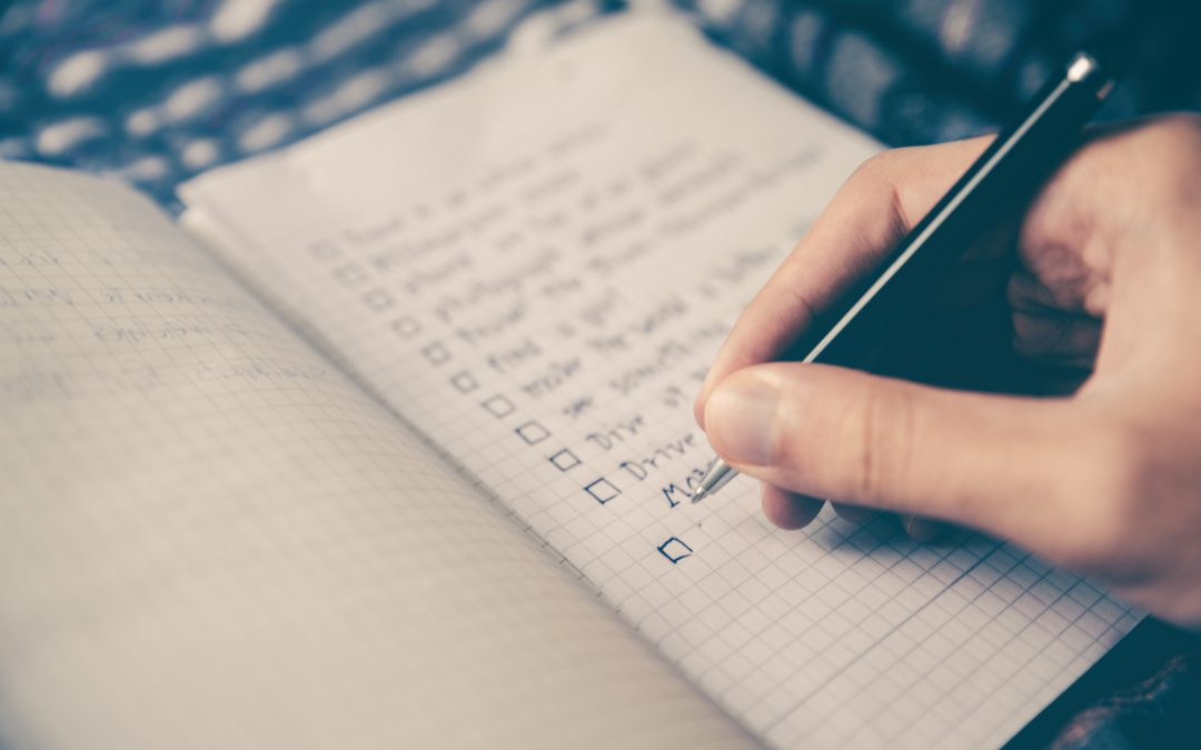 Checklists as motivation