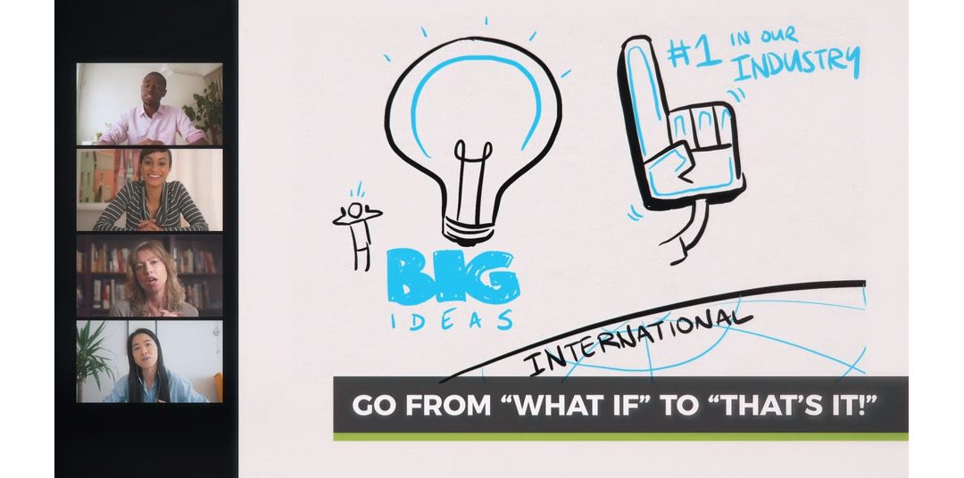 Move your ideas forward with virtual (and visual!) collaboration