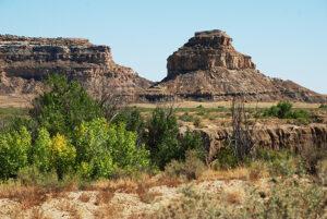 New Mexico: Chaco Canyon Fajada Butte photograph