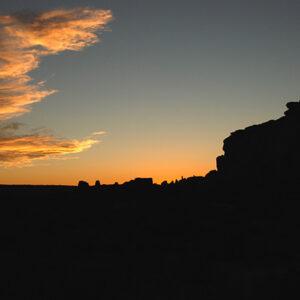 New Mexico: Chaco Canyon photograph Sunseton