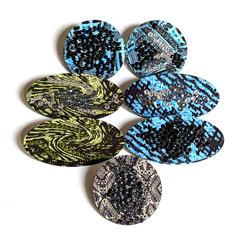 Brooches in Grouping