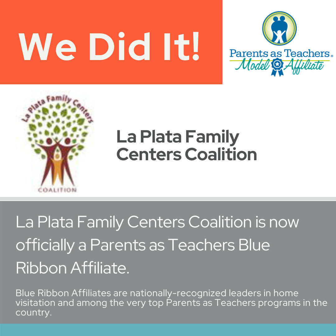 LPFCC Earns Parents as Teachers National Center Blue Ribbon Affiliate Status.