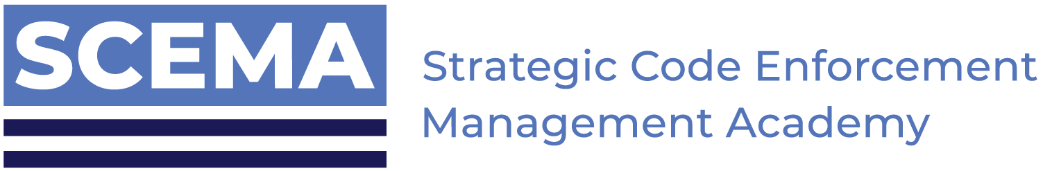 Strategic Code Enforcement Management Academy