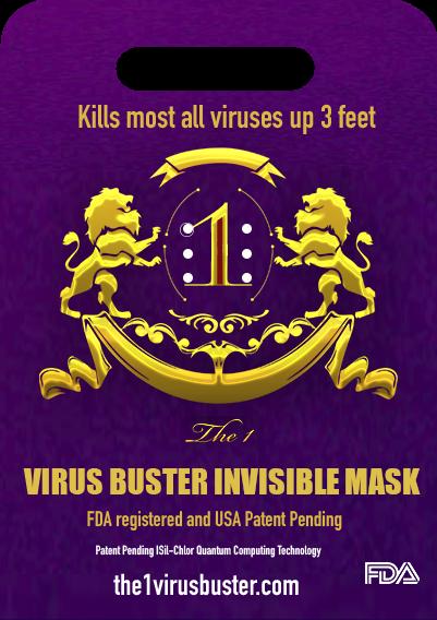 Virus Buster Airborne Prevention Card
