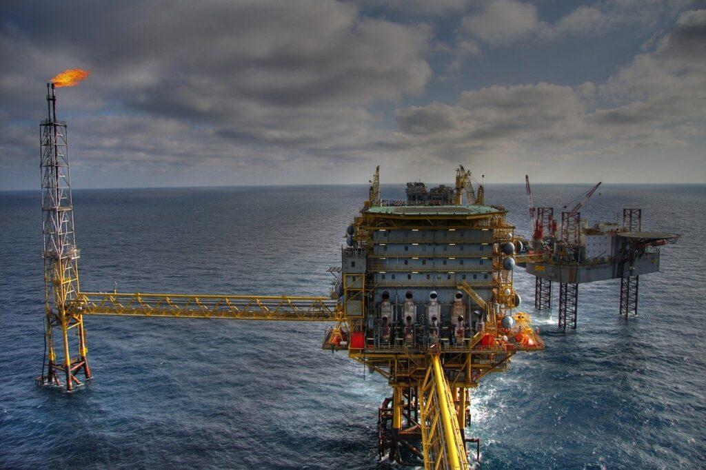 rig, oil industry, work