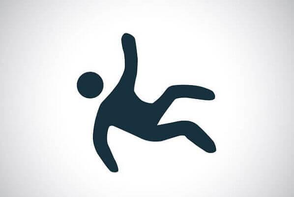 Shadow Man falling