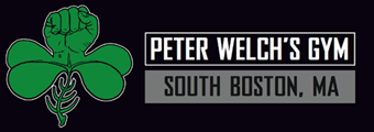 Peter Welch's Gym. Best Boxing, Fitness, Boston, MA Logo
