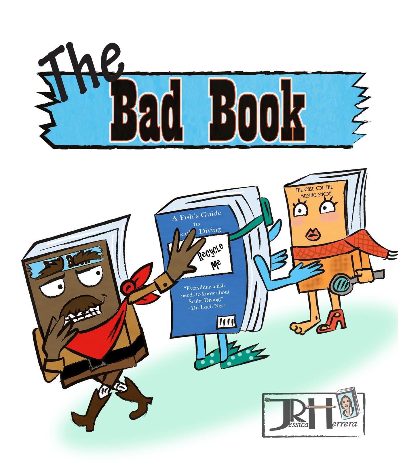 Bad Book T-Shirt Design