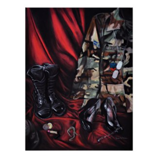 Trading Heels for Combat Boots Image