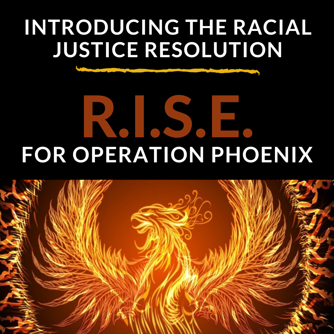 Help Push For #OperationPhoenix R.I.S.E. Demands To Be Met In City Council's Racial Justice Resolution