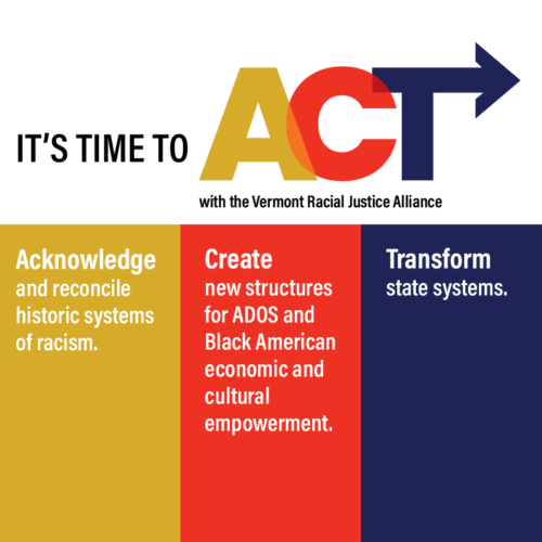 Vermont Racial Justice Alliance 2021 Legislative Session Wrap-up