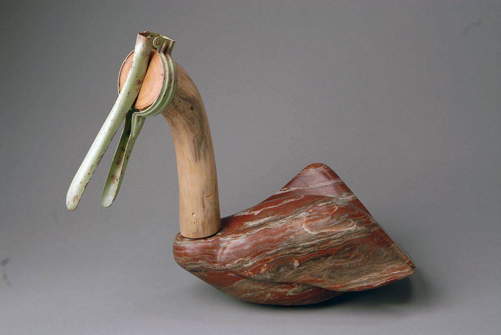 Stone figurative sculpture