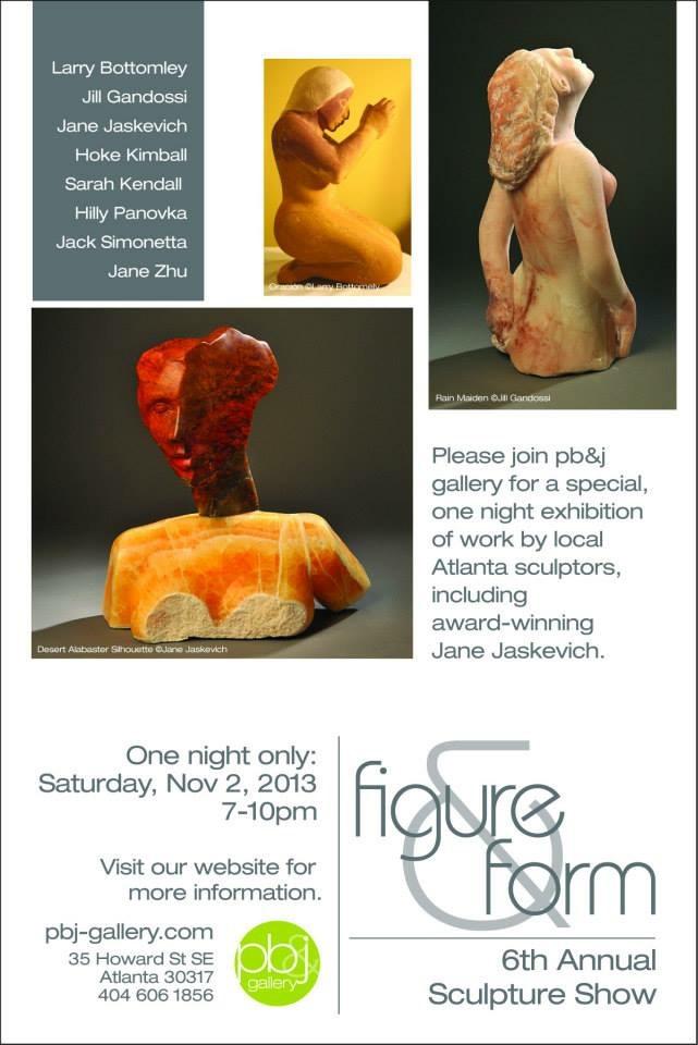 Annual stone sculpture student exhibit
