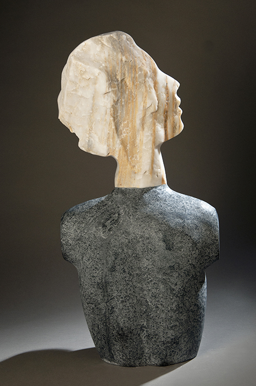 outdoor stone figurative sculpture