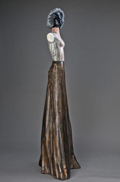 marble cypress sculpture