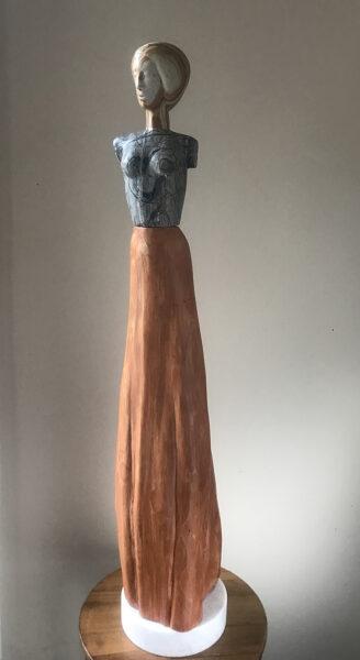 contemporary art, stone sculpture, figurative sculpture