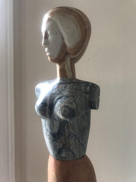 figurative sculpture, stone sculpture, contemporary sculpture