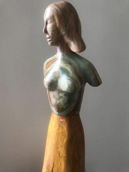 stone sculpture, figurative sculpture, contemporary art