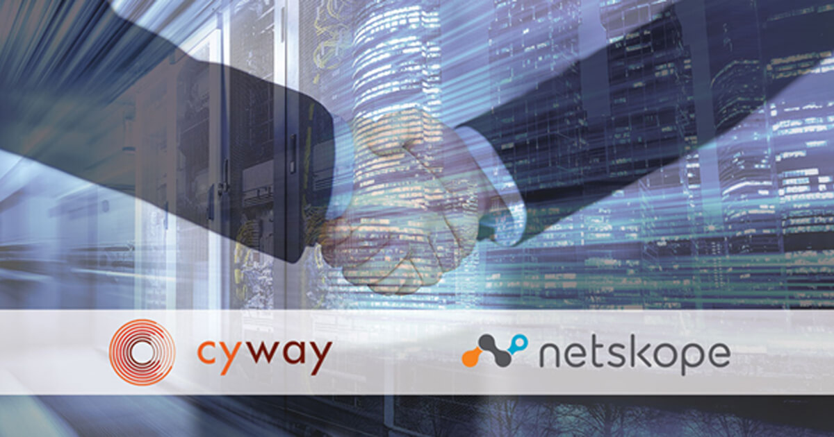 Cyway Press Release - Cyway Signs Distribution Agreement for Netskope in Middle East & Africa