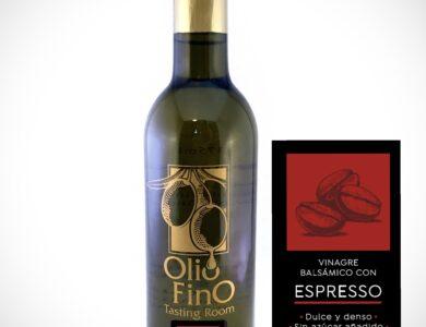balsamico oscuro con espresso