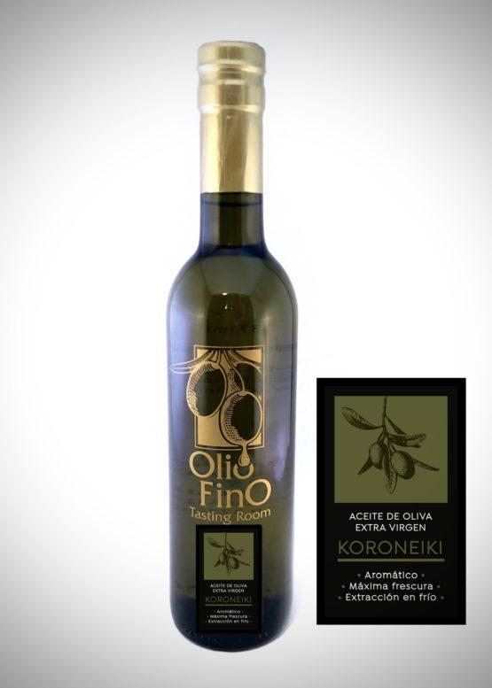 aceite de oliva extra virgen koroneiki