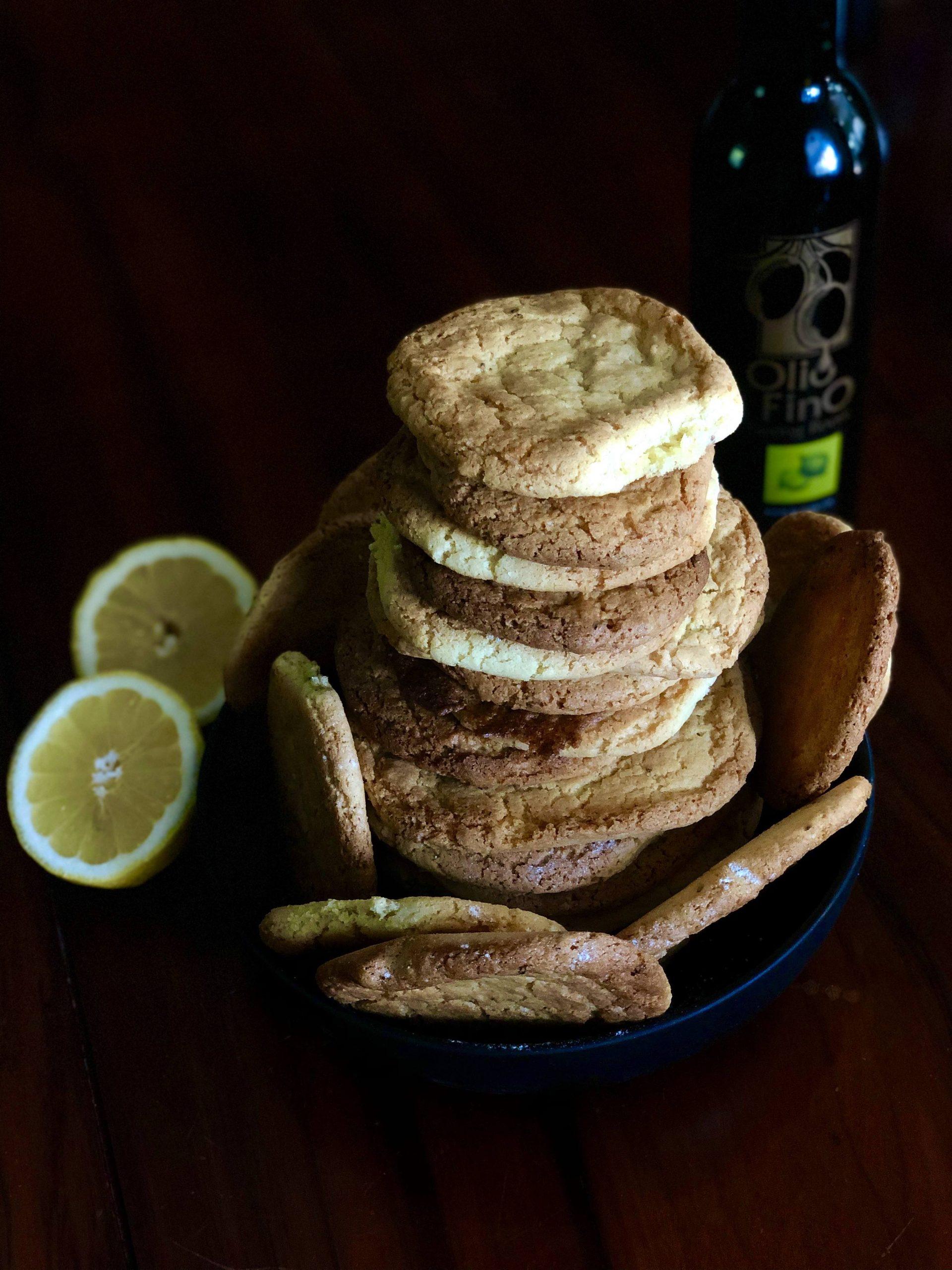 Galletas con Aceite de Oliva y Cardamomo