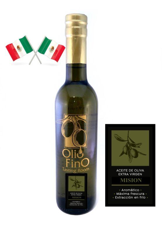 aceite de oliva extra virgen mision