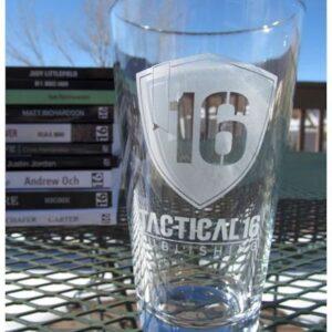 Tactical 16 Beer Glass
