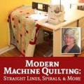 Webinar: Modern Machine Quilting: Straight Lines, Spirals, and More