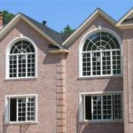 masonry windows with radius