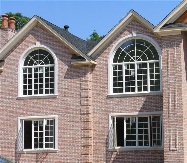 masonry windows with radius
