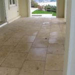 travertine concrete