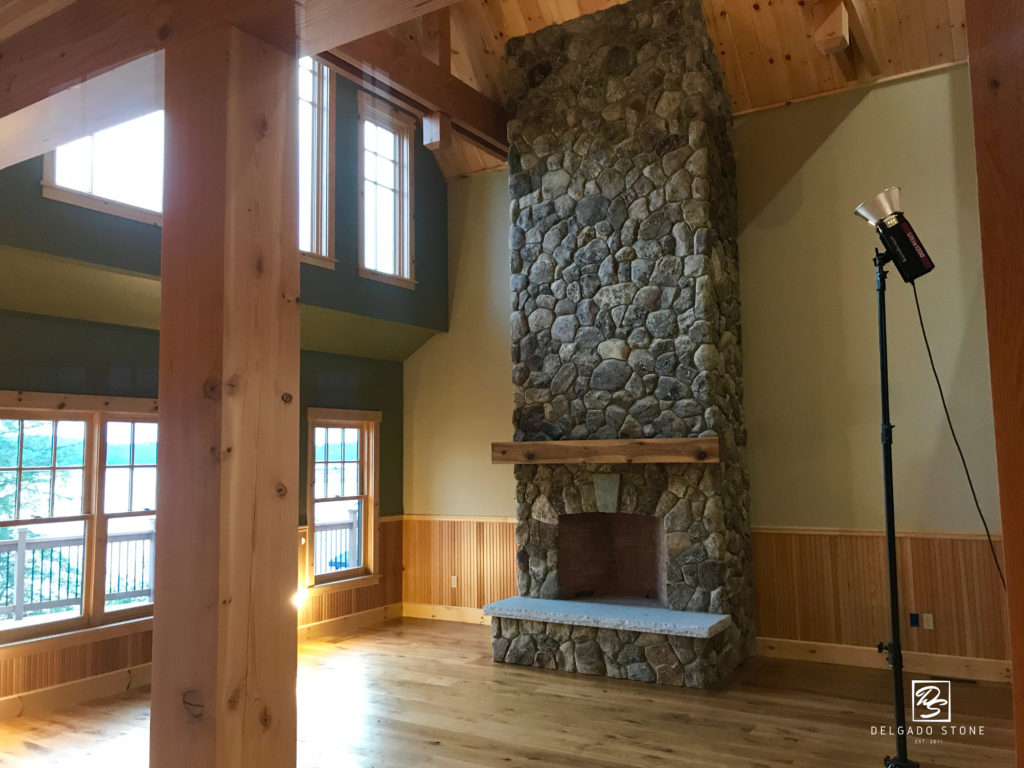 ONE Rounds Fireplace Tall