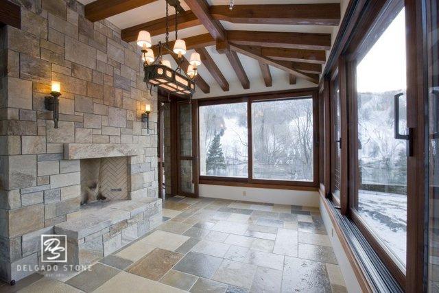 Sterling Tan Sq _ Rec Fireplace