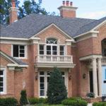 brick and precast house