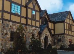 english irish style home design