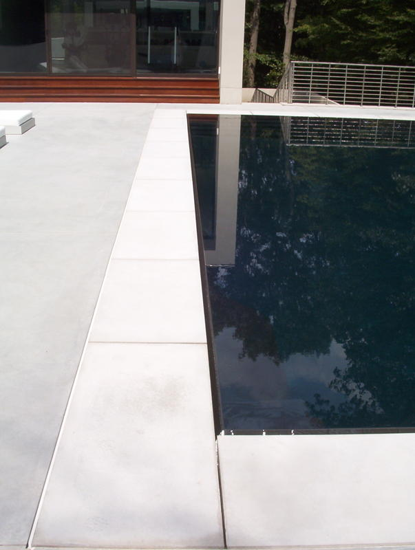 custom pool coping