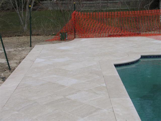 custom pool end