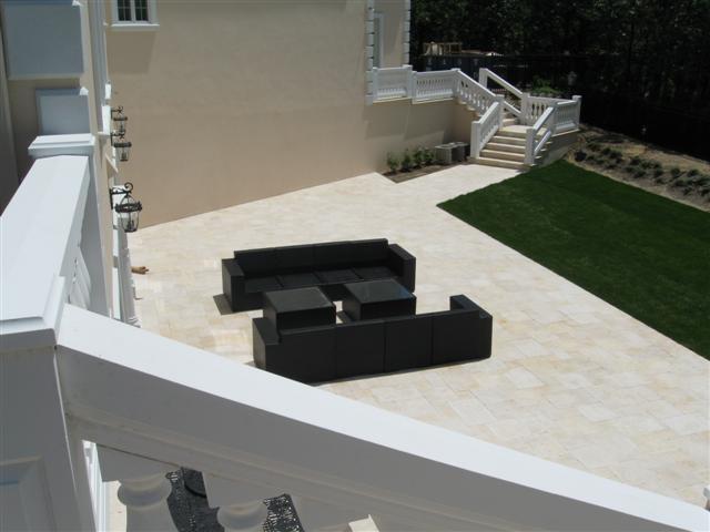 white patio