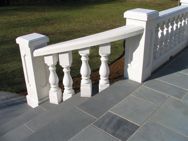 radius railing