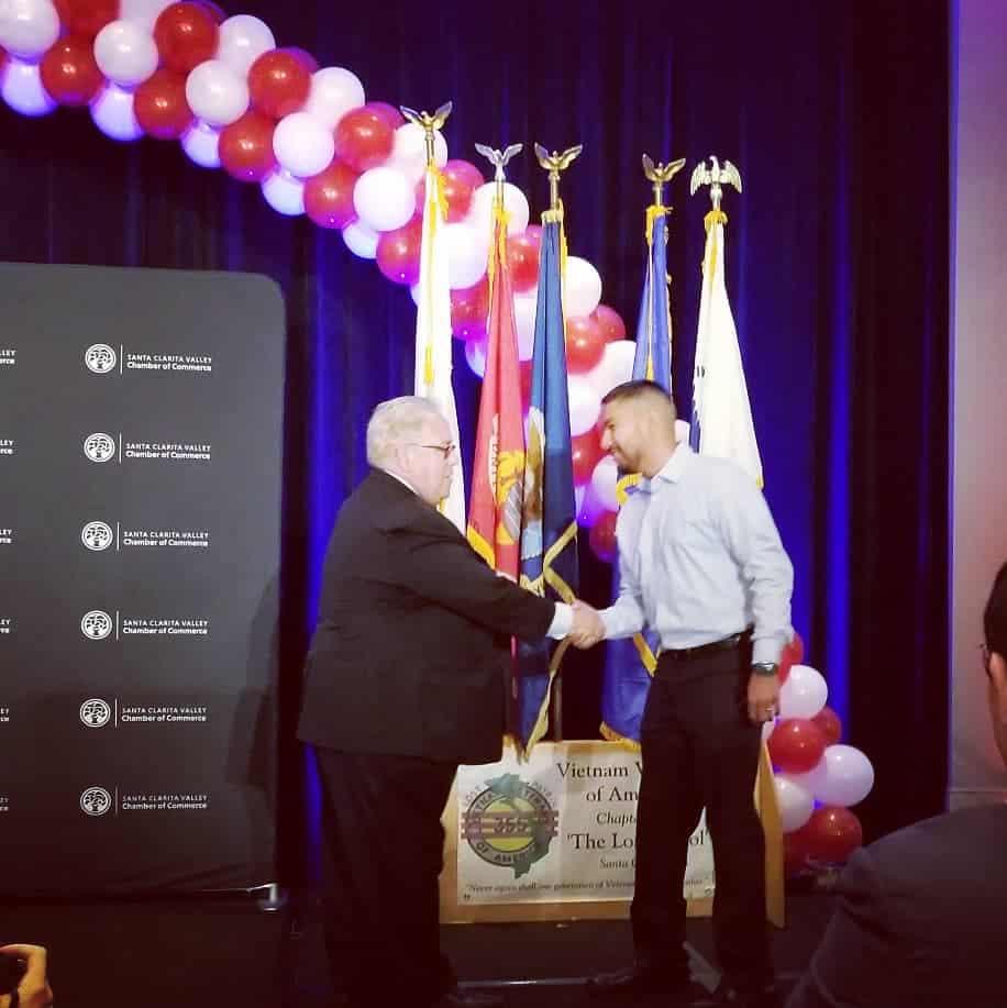 Patriots Luncheon Honoree: U.S. Army Veteran Michael Reyes