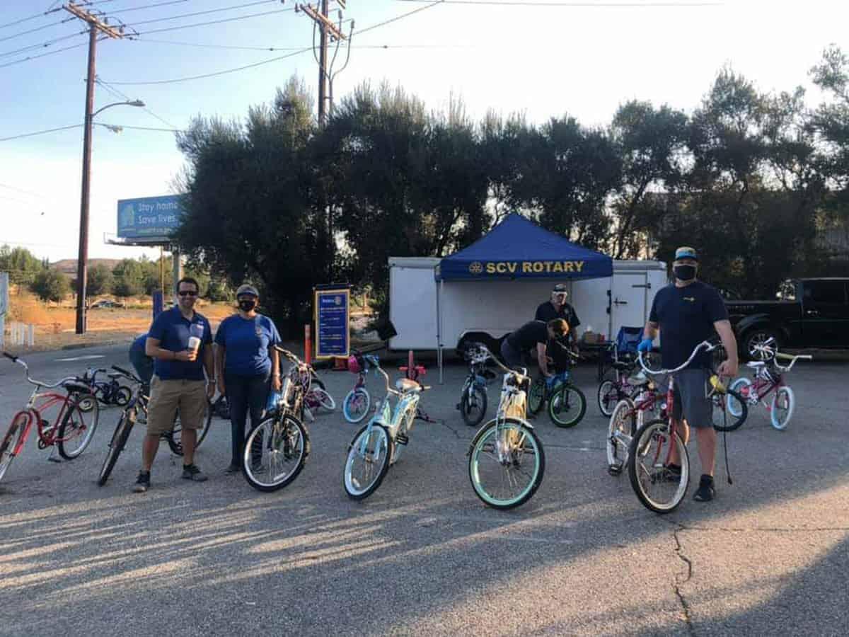 Bicycles for the Santa Clarita Veteran Community