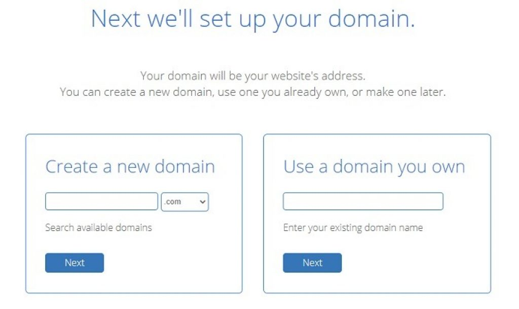 Set up your domain name