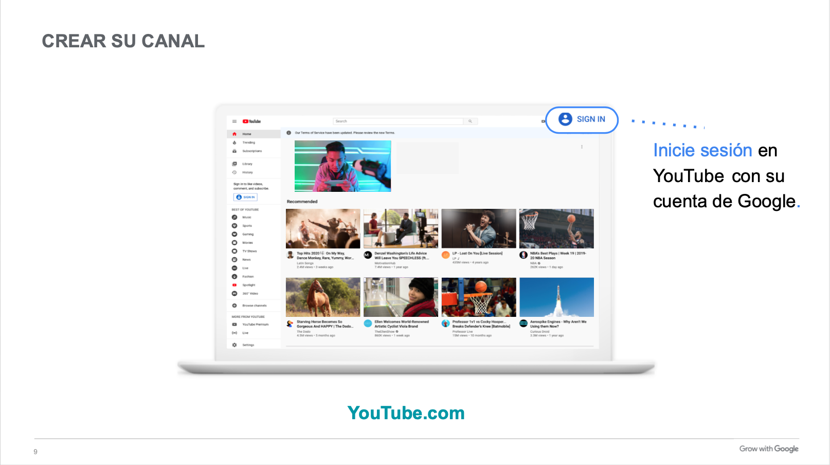Conviértete en un Pro en YouTube