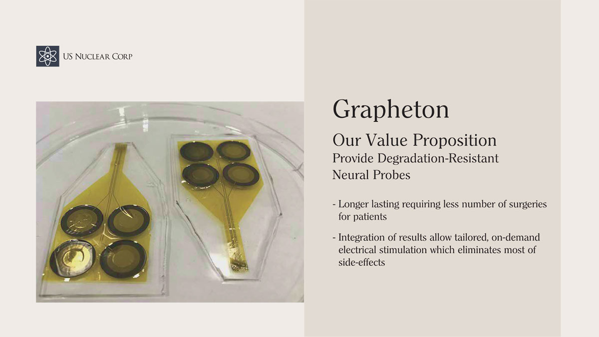 Grapheton Our Value Proposition Provide Degradation-Resistant Neural Probes