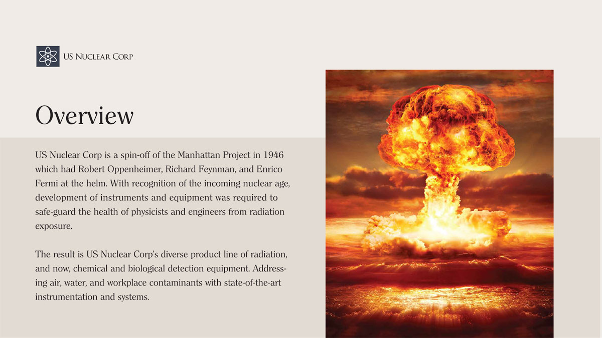 Introduction to US Nuclear Corp