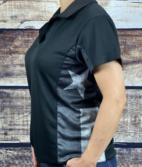 Texas Polo Shirt subdued style womans